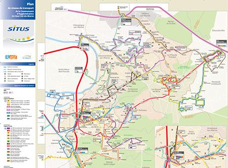 Plan du réseau SITUS